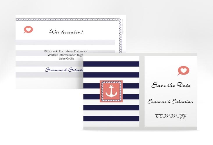 "Save the Date-Karte Hochzeit ""Girona"" A6 quer"