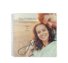"Trautagebuch Hochzeit ""Clarity"""