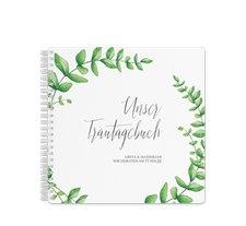 """Trautagebuch Hochzeit """"Botanic"""""""