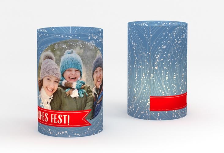 """Windlicht Weihnachten """"Flockentanz"""" Windlicht"""
