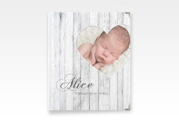 "Baby Fotoalbum ""Herzlein"" 21 x 25 cm weiss"
