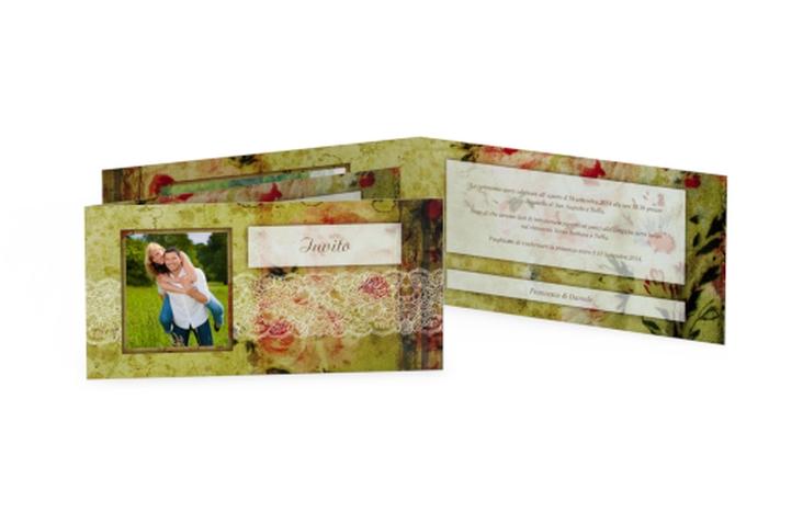Inviti matrimonio collezione Parigi DIN lang Klappkarte