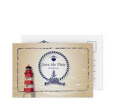 "Save the Date-Postkarte ""Sylt"""