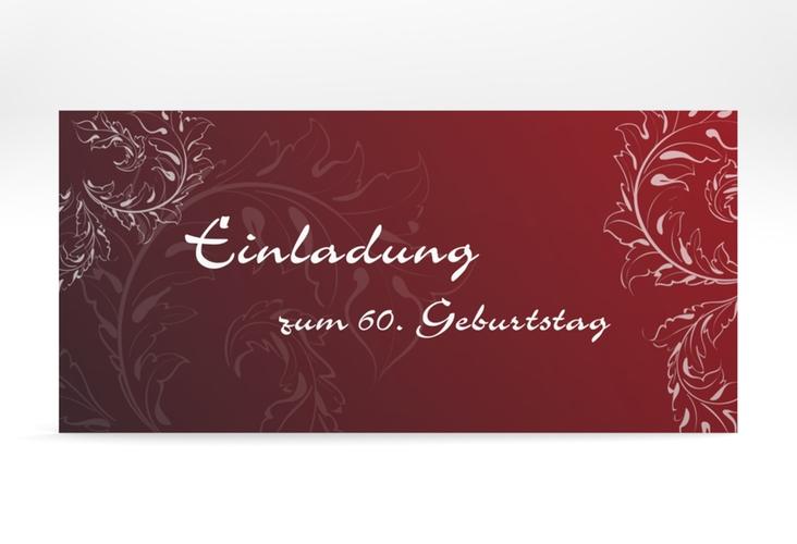 "Einladungskarte ""Peter/Petra"" DIN lang"