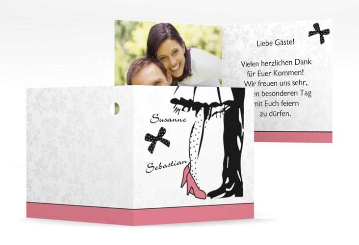 """Geschenkanhänger Hochzeit """"Straßburg"""" Geschenkanhänger 10er Set rosa"""