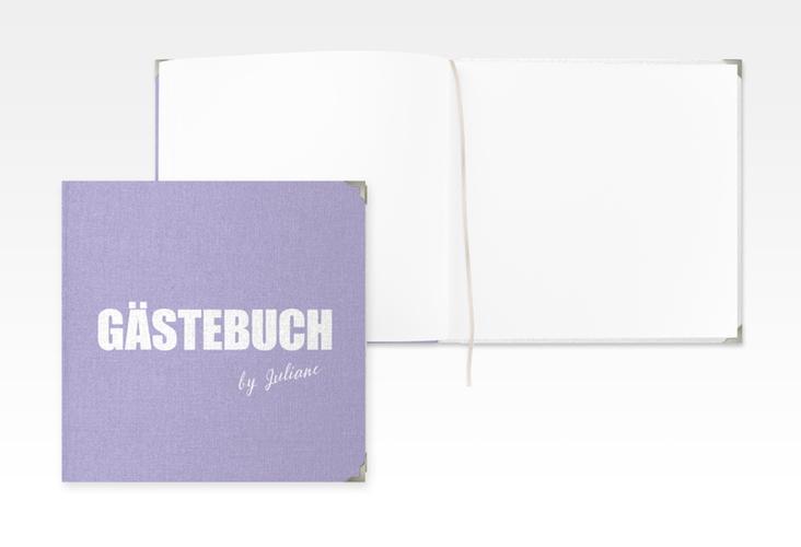 "Gästebuch Selection Geburtstag ""Zig"" Hardcover flieder"