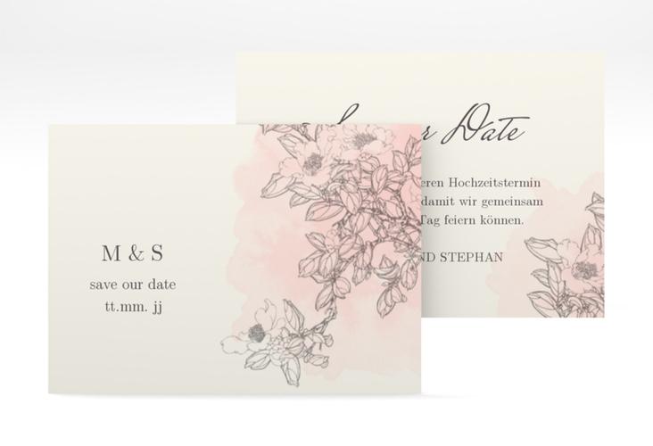 """Save the Date-Visitenkarte """"Artlover"""" Visitenkarte"""