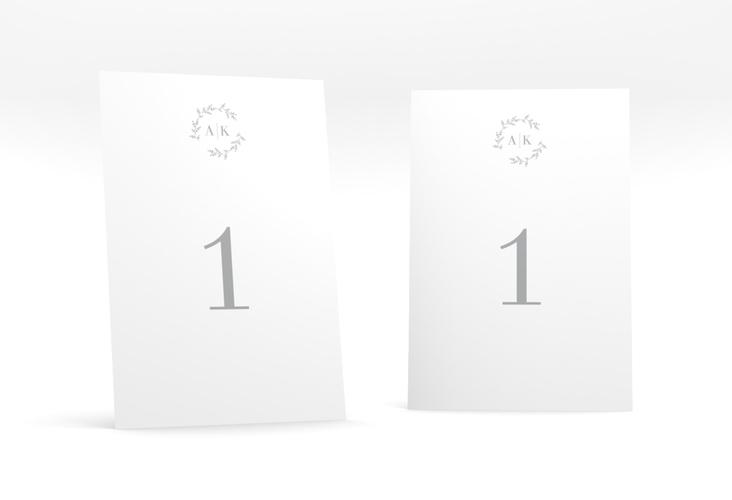 """Tischnummer Hochzeit """"Filigrana"""" Tischaufsteller"""