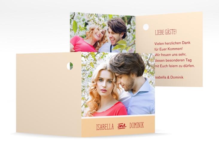 """Geschenkanhänger Hochzeit """"Gallery"""" Geschenkanhänger 10er Set apricot"""