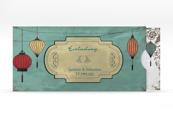 """Hochzeitseinladung """"Turin"""" Einsteckkarte"""
