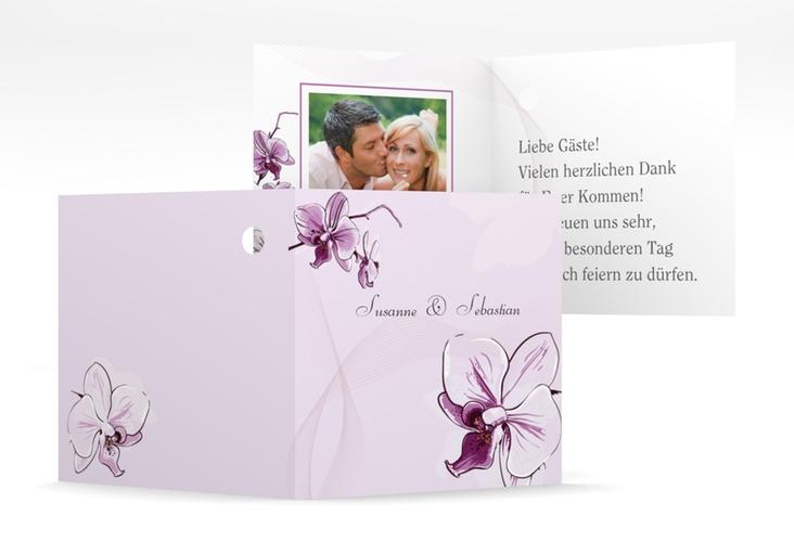 "Geschenkanhänger Hochzeit ""Modena"" Geschenkanhänger 10er Set lila"