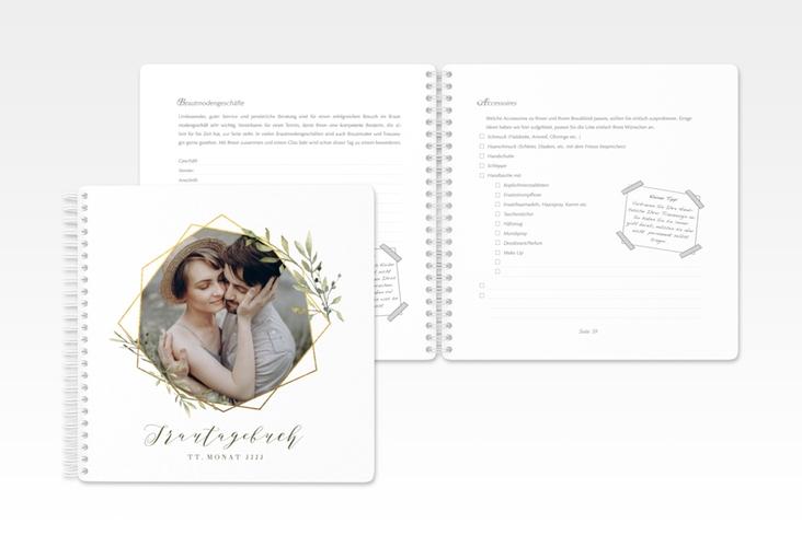 """Trautagebuch Hochzeit """"Acacia"""" Trautagebuch Hochzeit weiss"""