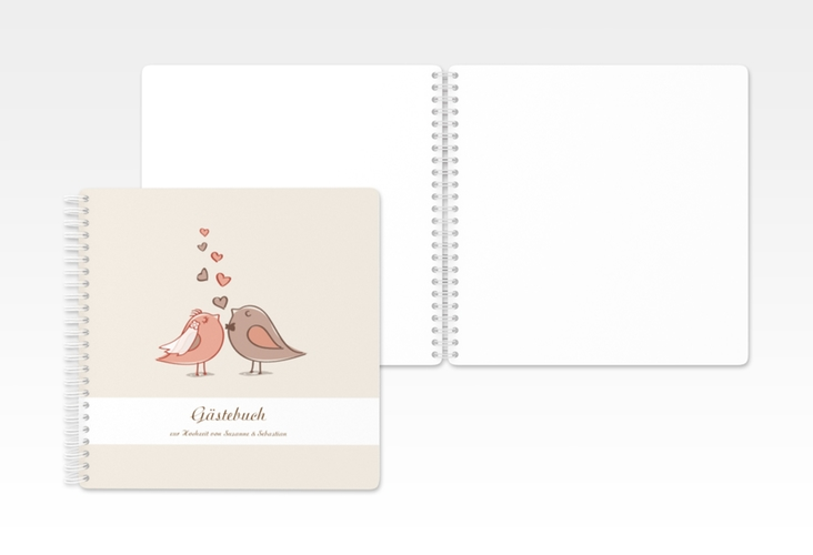 "Gästebuch Hochzeit ""Venedig"" Ringbindung"