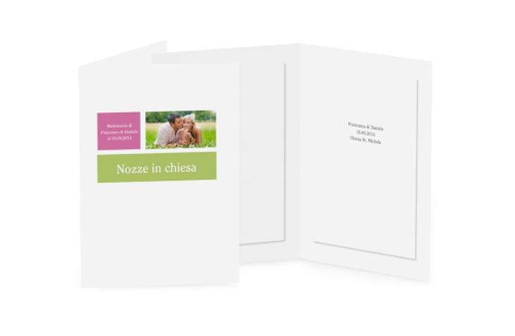 Libro messa matrimonio collezione Nizza DIN A5 geklappt