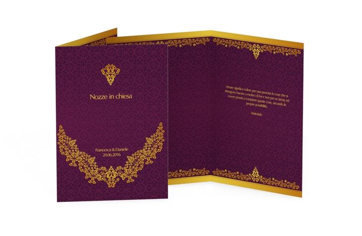 Libro messa matrimonio collezione Istanbul DIN A5 geklappt