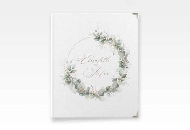 """Hochzeitsalbum """"Selvatica"""" 21 x 25 cm weiss"""
