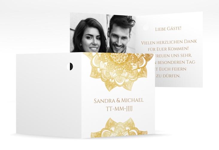 """Geschenkanhänger Hochzeit """"Delight"""" Geschenkanhänger 10er Set gold"""