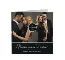 """Hochzeitseinladung """"Elegancy"""""""