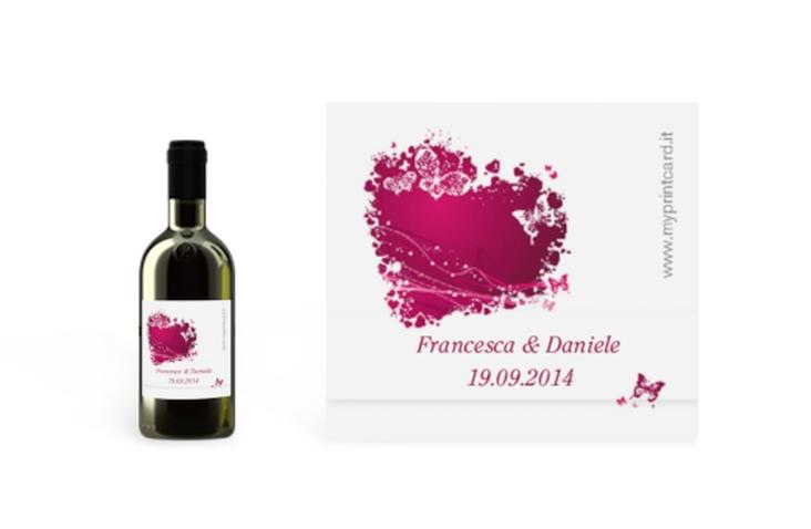 Etichette piccolo matrimonio collezione Milano Etikett Piccolo