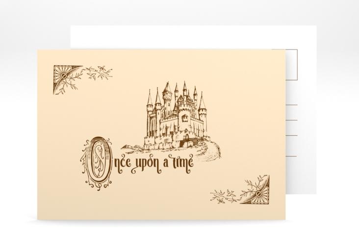 "Verlobungskarte ""Storybook"" A6 Postkarte"