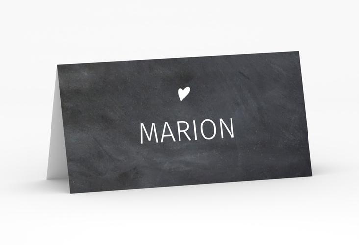 """Tischkarte Hochzeit """"Chalkboard"""" Tischkarten"""