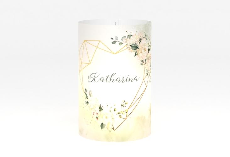 """Windlicht Hochzeit """"Adore"""" Windlicht gruen"""