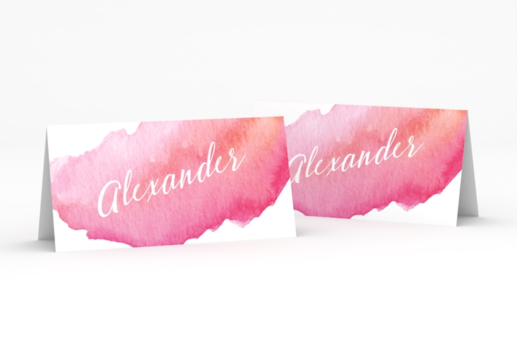 """Tischkarte Hochzeit """"Aquarella"""" Tischkarten"""