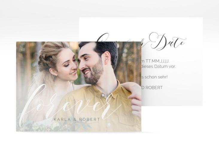 """Save the Date-Visitenkarte """"Promise"""" Visitenkarte"""