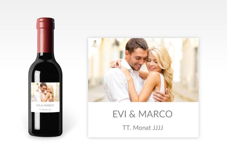 "Piccoloetikett Hochzeit ""Vista"" Etikett Piccolo"