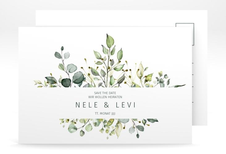 "Save the Date-Postkarte ""Enchanting"" A6 Postkarte"
