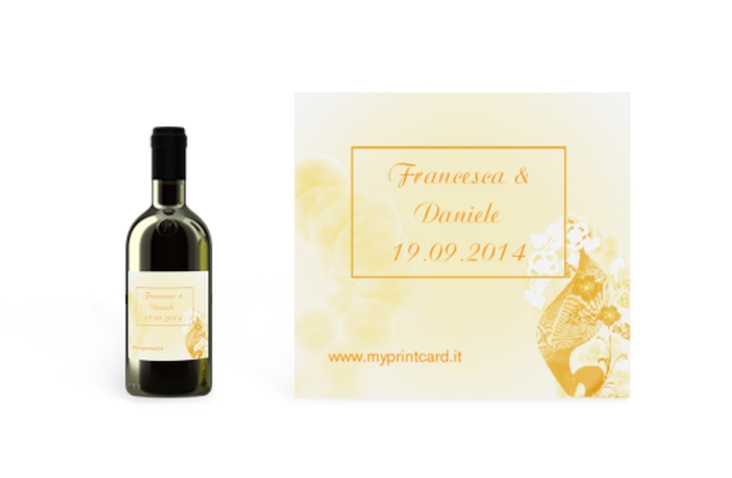 Etichette piccolo matrimonio collezione Ravenna Etikett Piccolo