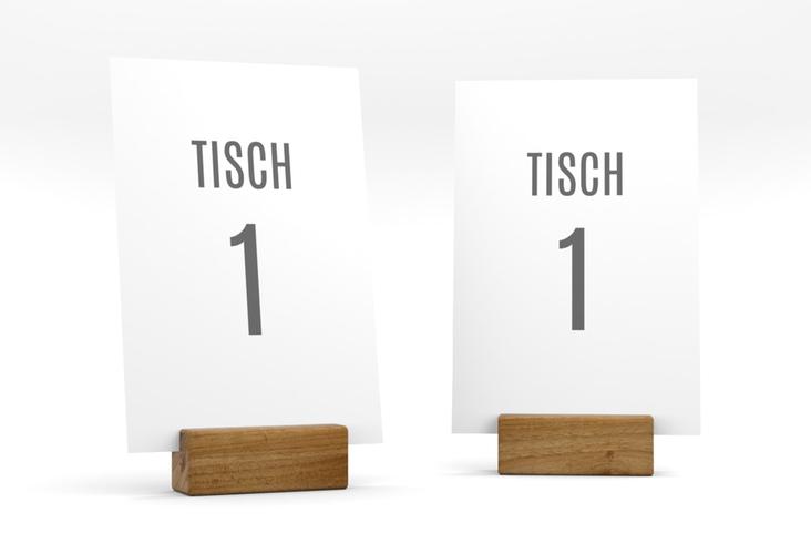 """Tischnummer Hochzeit """"Amazing"""" Tischaufsteller"""