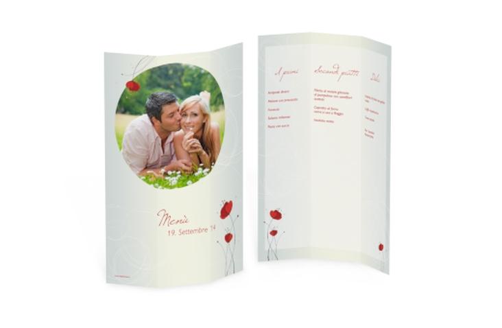 Menù matrimonio collezione Madrid DIN A4 Wickelfalz