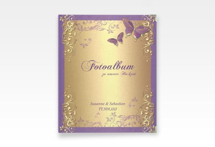 """Hochzeitsalbum """"Toulouse"""" 21 x 25 cm lila"""