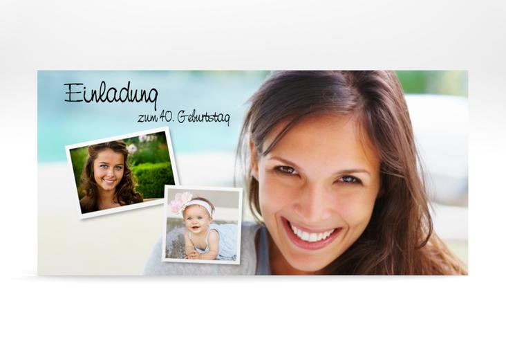 "Einladungskarte ""Friedolin/Frieda"" DIN lang"