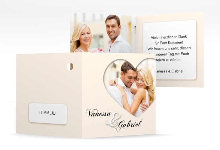 "Geschenkanhänger Hochzeit ""Sweetheart"" Geschenkanhänger 10er Set"