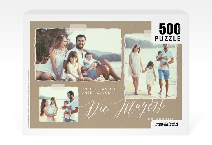 "Fotopuzzle 500 Teile ""Summery"" 500 Teile beige"