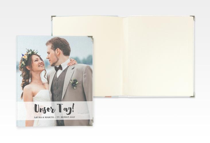 """Hochzeitsalbum """"Mirage"""" 21 x 25 cm weiss"""