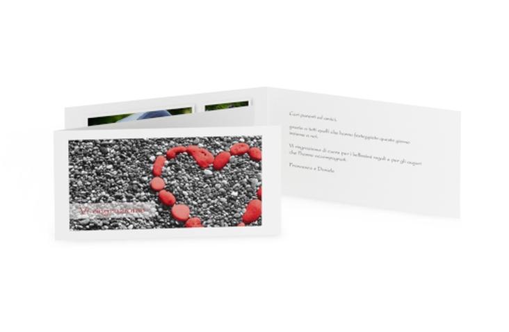 Ringraziamenti matrimonio collezione Bilbao DIN lang Klappkarte
