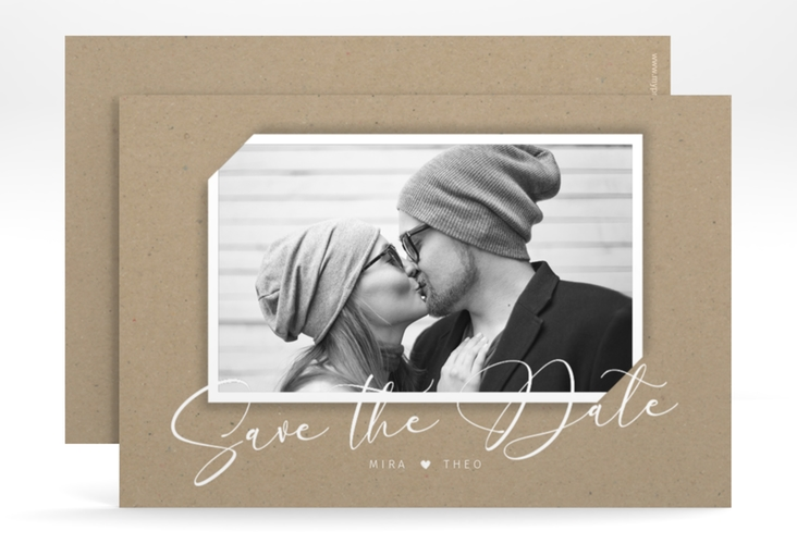 "Save the Date-Karte ""Crafty"" A6 quer"