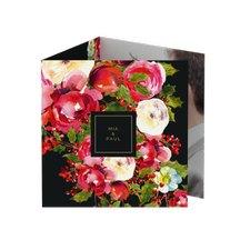 """Danksagungskarte Hochzeit """"Blumenpracht"""""""