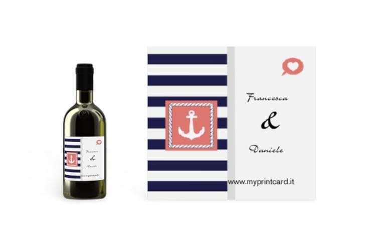 Etichette piccolo matrimonio collezione Lecce Etikett Piccolo