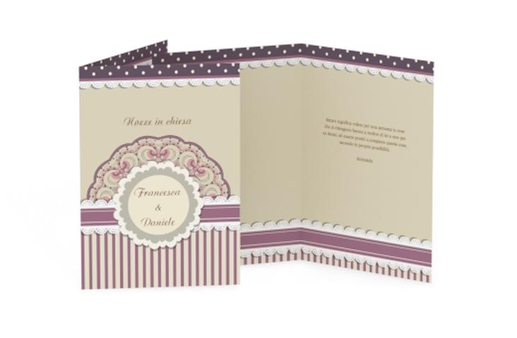 Libro messa matrimonio collezione Sorrento DIN A5 geklappt
