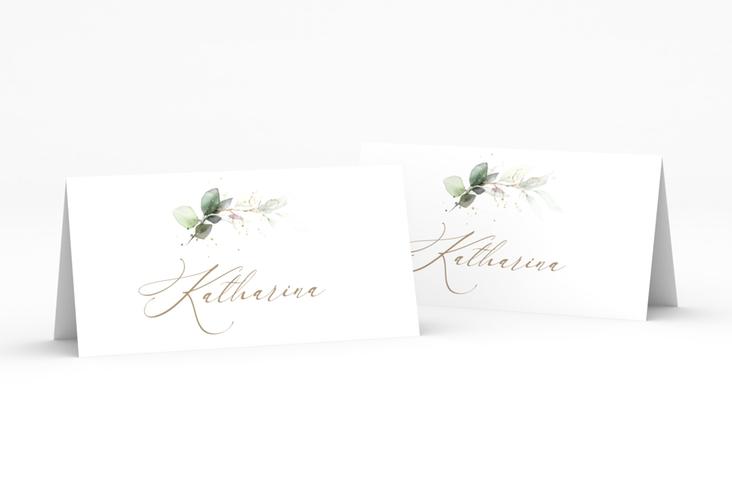 """Tischkarte Hochzeit """"Selvatica"""" Tischkarten weiss"""
