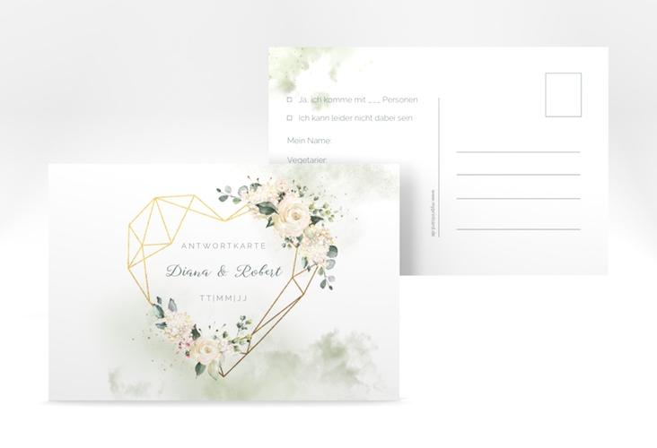 """Antwortkarte Hochzeit """"Adore"""" A6 Postkarte"""