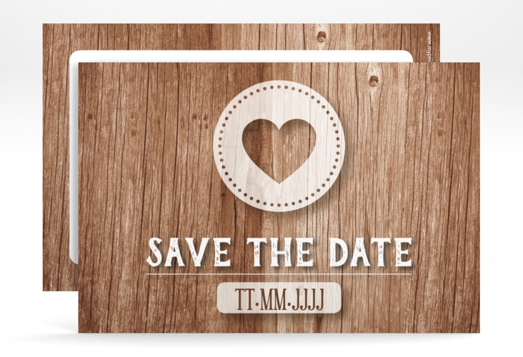 "Save the Date-Karte ""Flair"" A6 quer"