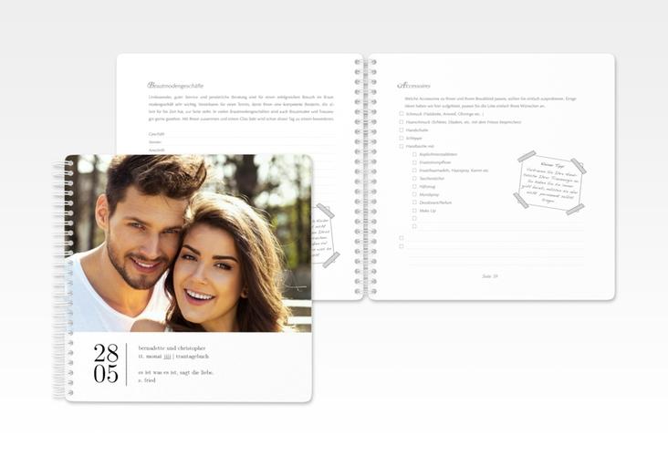 """Trautagebuch Hochzeit """"Minimal"""" Trautagebuch Hochzeit"""
