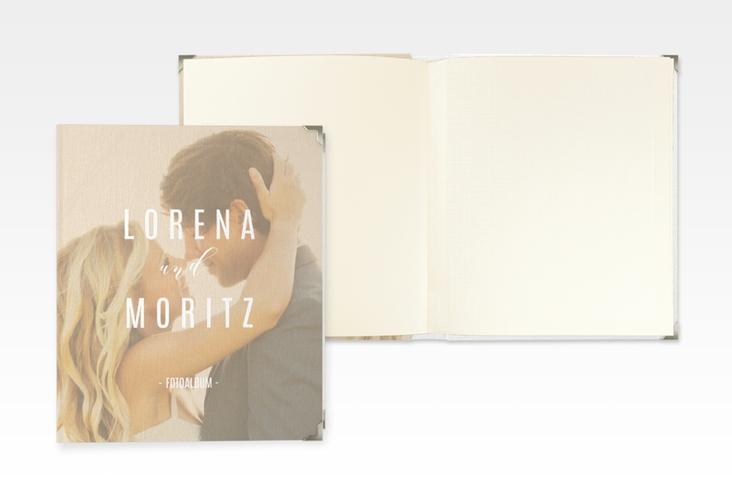 """Hochzeitsalbum """"Memory"""" 21 x 25 cm beige"""