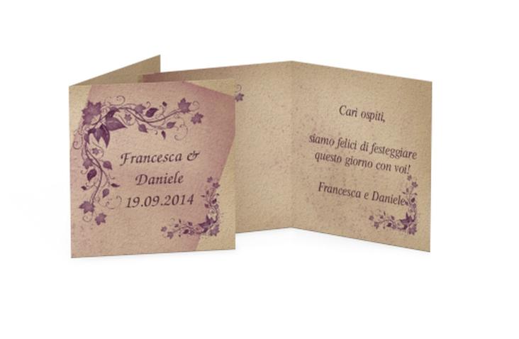 Biglietti Bomboniera matrimonio collezione Como Geschenkanhänger 10er Set