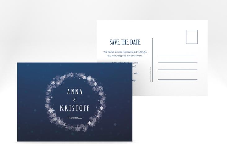 "Save the Date-Postkarte ""Winterdream"" A6 Postkarte"